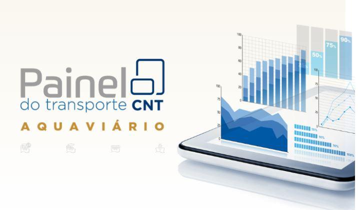 Novo painel da CNT do transporte aquaviário mostra que setor cresceu em 2020