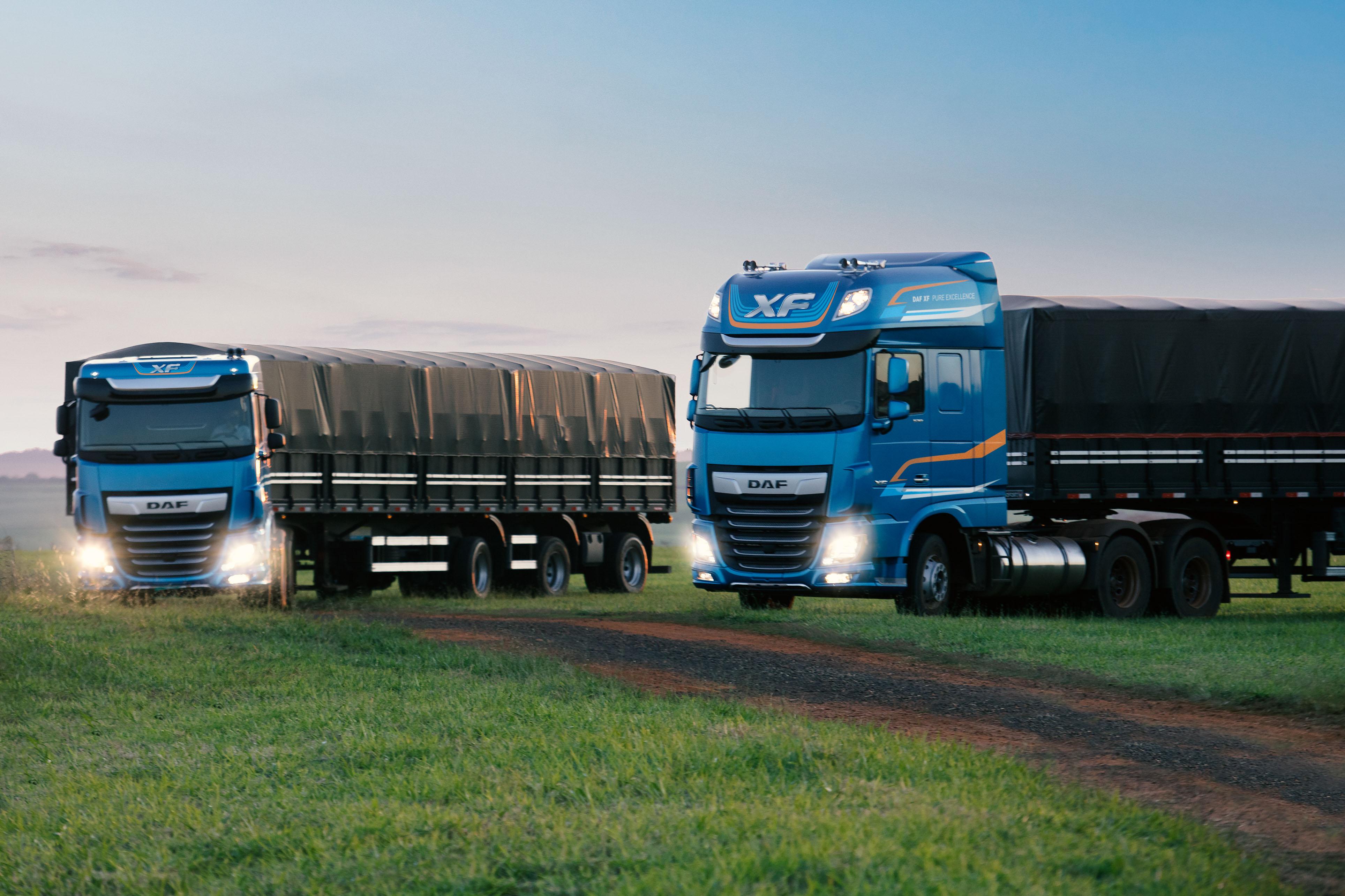 DAF Caminhões apresenta novo modelo XF durante coletiva