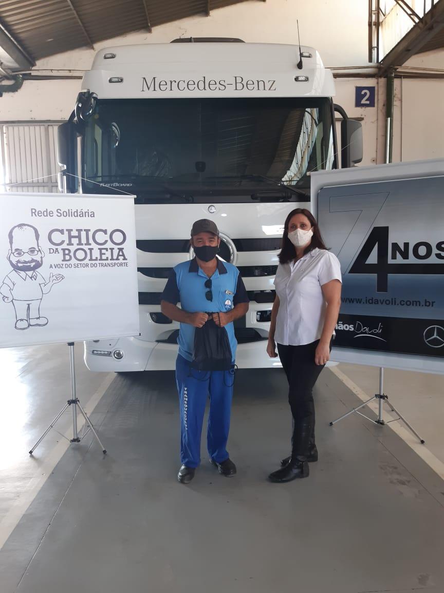 Rede Solidária Chico da Boleia entrega kits de higiene no segundo semestre