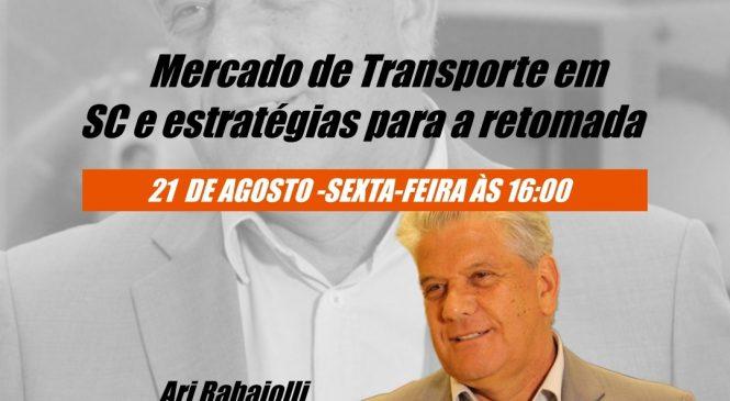 Presidente da Fetrancesc participa de live com Chico da Boleia