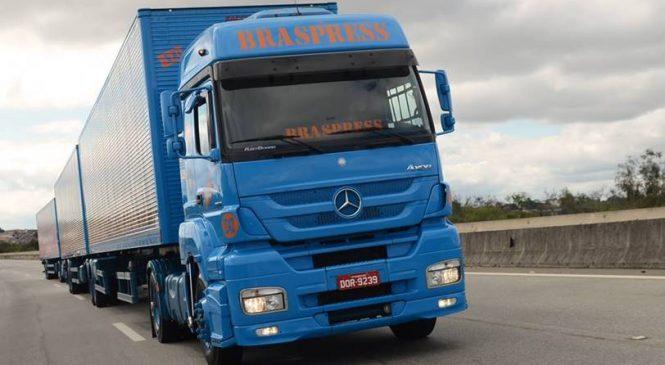 Braspress avança no e-commerce e amplia frota com caminhões Mercedes-Benz