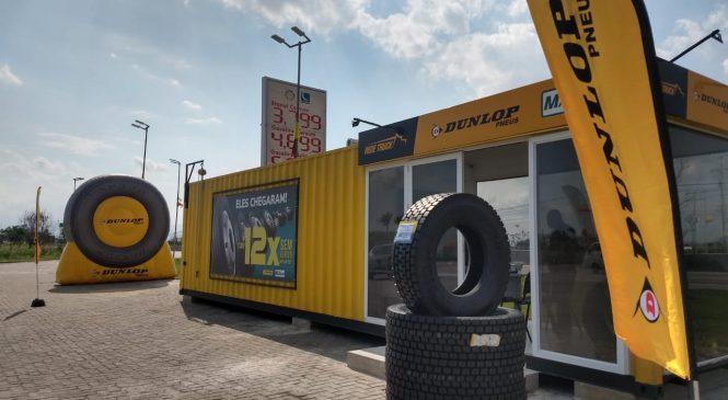 Dunlop apresenta novo modelo de negócio para venda de pneus de carga