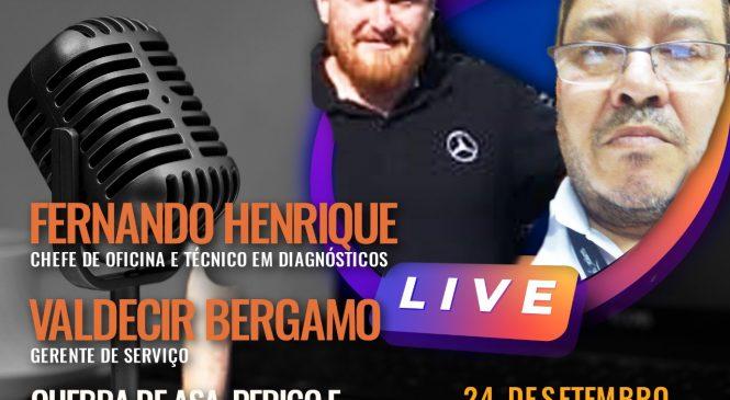 Chico da Boleia realiza live especial sobre quebra de asa