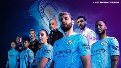 Manchester City e Nexen Tire ampliam parceria