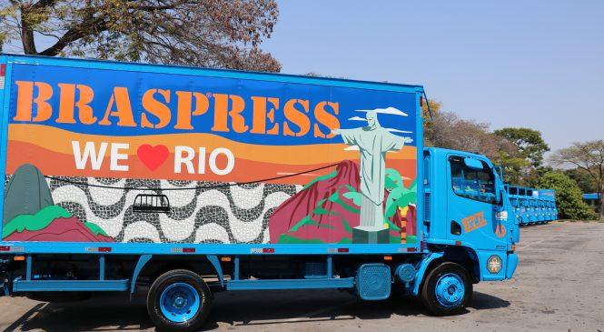 Braspress faz renovação parcial da frota do Rio de Janeiro