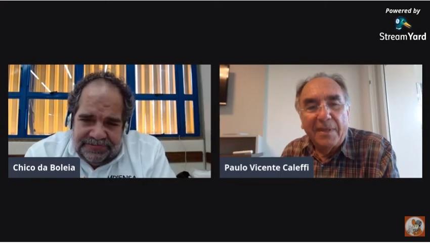 Paulo Caleffi conta sobre sua trajetória na CIT em live com Chico da Boleia
