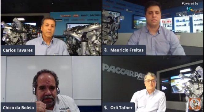 Novidades da PACCAR Parts Brasil é tema de live com Chico da Boleia