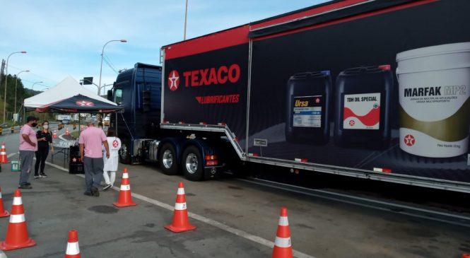 Texaco e AB Concessões se unem em ação à caminhoneiros contra o Covid-19