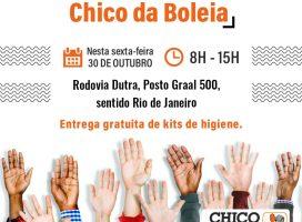 Rede Solidária Chico da Boleia chega a Rodovia Dutra nesta sexta-feira (30)