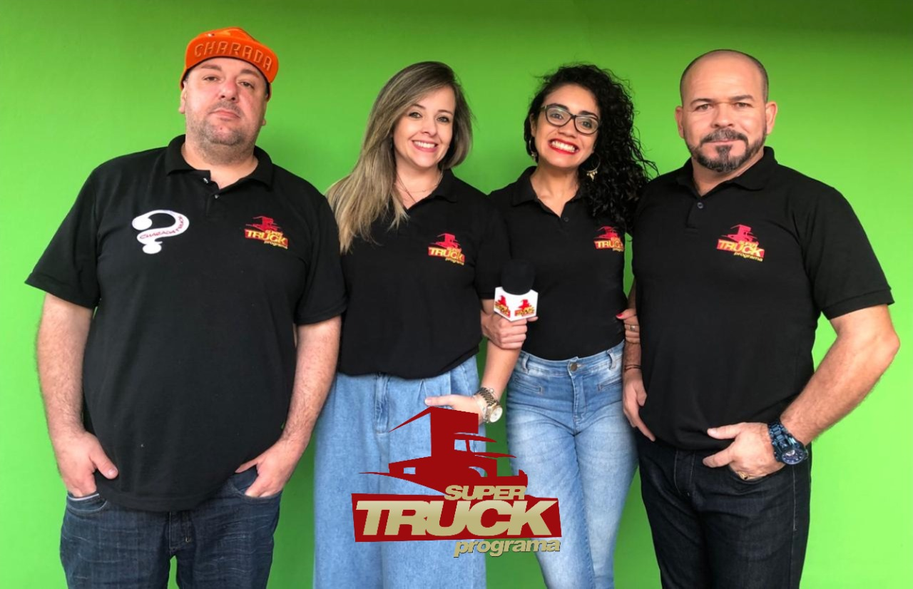 Chico da Boleia entrevista equipe do Super Truck