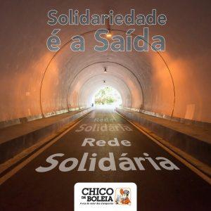 Rede Solidária: distribuição de kits de higiene continuou nesta sexta-feira (30)