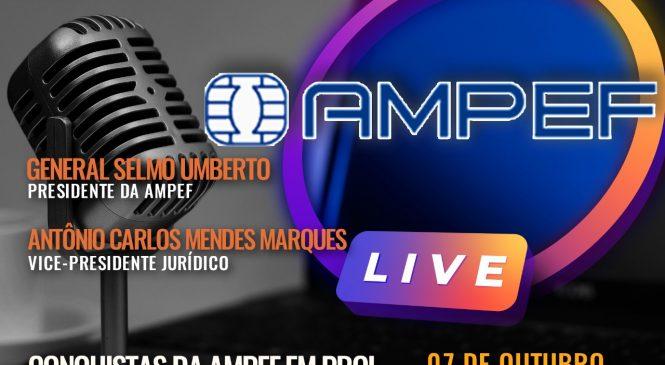 Chico da Boleia entrevista representantes da AMPEF em nova live