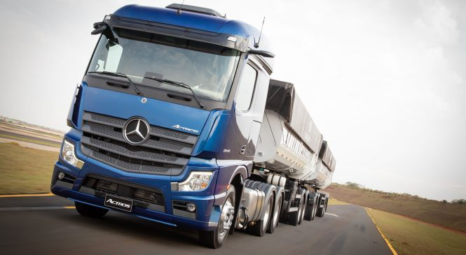 Mercedes-Benz vende primeiro Novo Actros por meio do showroom virtual
