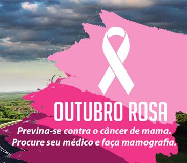Outubro Rosa: Rodovias sob concessão terão mensagens de incentivo à prevenção do câncer de mama