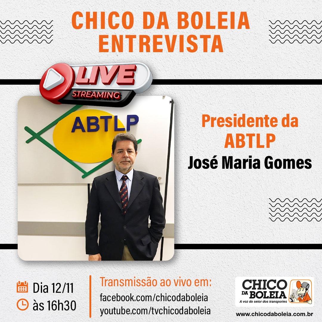 Chico da Boleia entrevista presidente da ABTLP