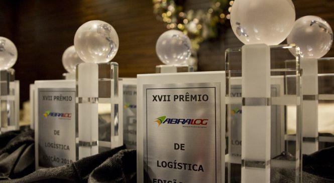 Já estão abertas as inscrições para o XVIII Prêmio Abralog de Logística
