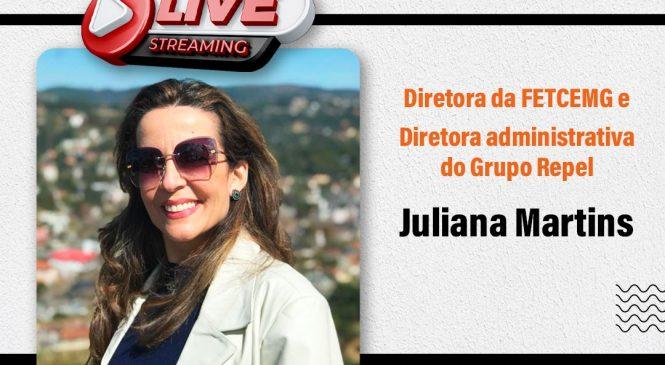 Chico da Boleia entrevista Juliana Martins – diretora da FETCEMG
