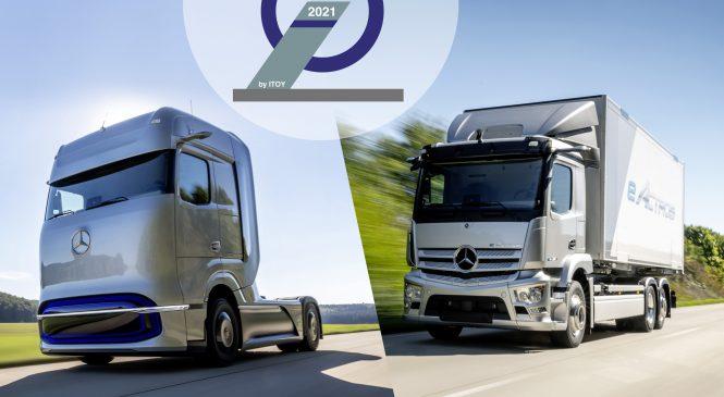 Caminhões Mercedes-Benz eActros e GenH2 conquistam o Truck Innovation Award 2021