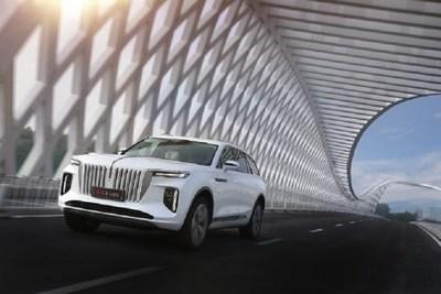 Xinhua Silk Road: marca chinesa icônica de sedan, Hongqi, lançará o E-HS9 no evento de Boao após uma jornada de 6.170 km