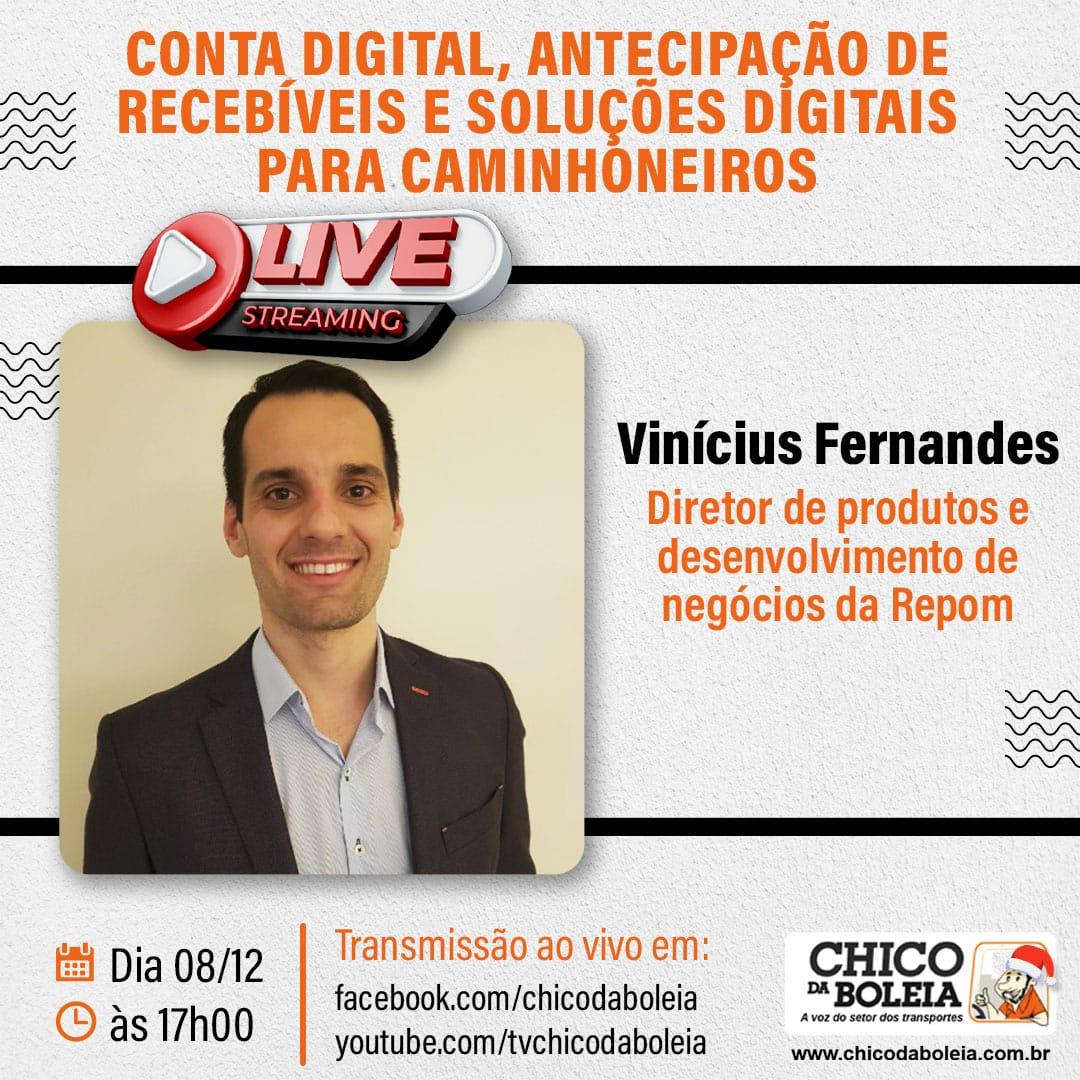 Chico da Boleia entrevista Vinicius Fernandes
