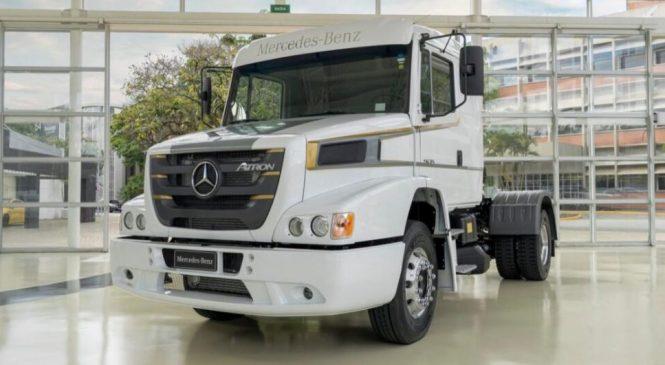 Mercedes-Benz lança edição especial do Atron 1635 para marcar a despedida de um caminhão clássico do Brasil