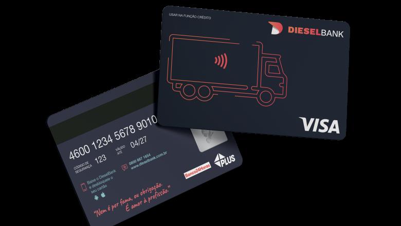 DieselBank lança conta digital para caminhoneiros