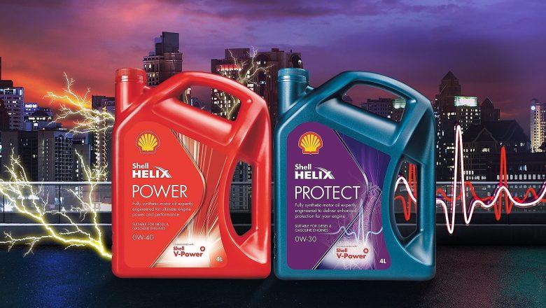 Novos lubrificantes Shell Helix Power e Shell Helix Protect têm venda exclusiva nos postos Shell