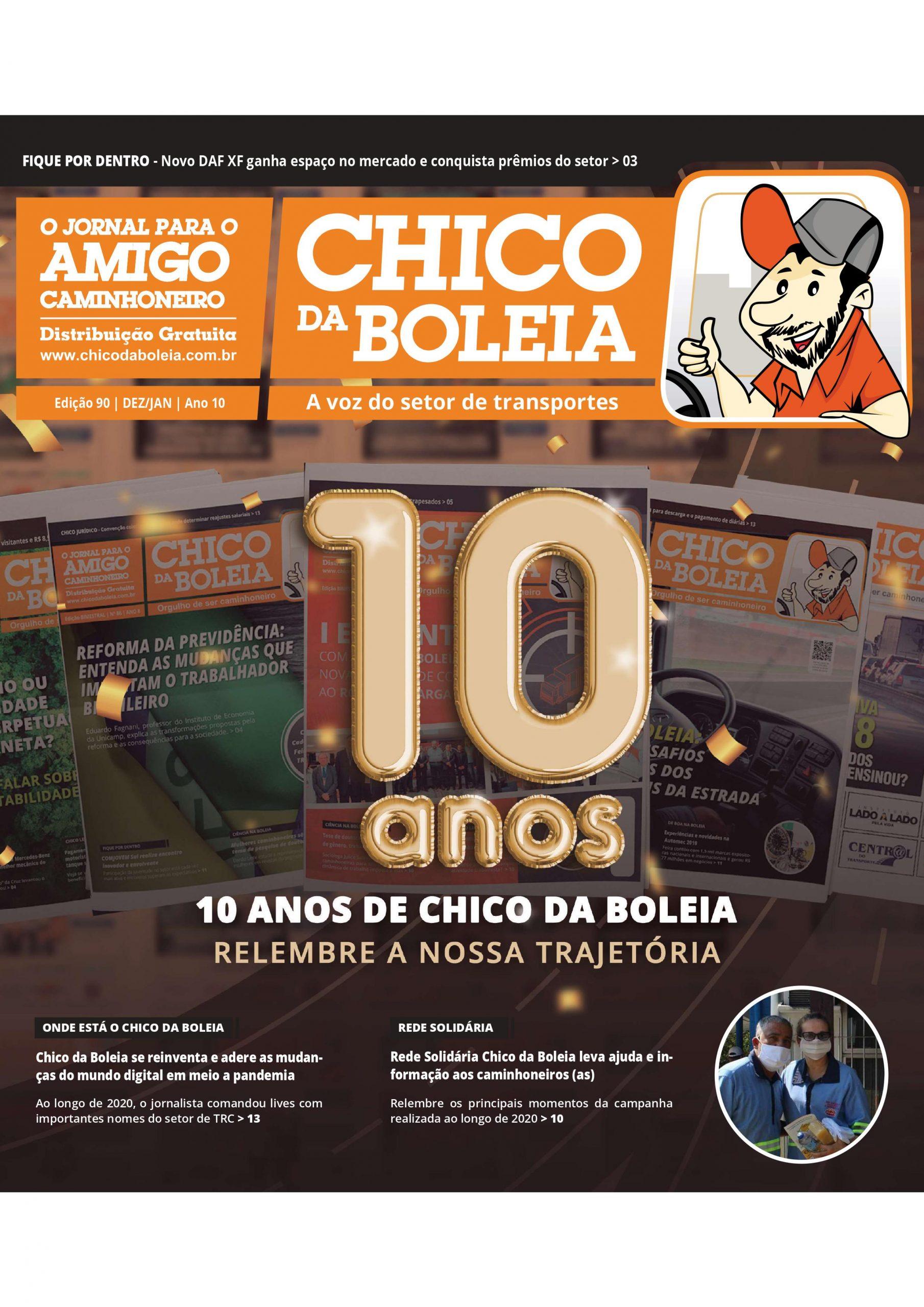 90ª Edição Nacional – Jornal Chico da Boleia 10 ANOS