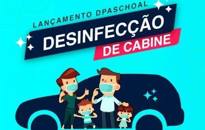 DPaschoal lança serviço de desinfecção de cabine gratuito para profissionais da saúde