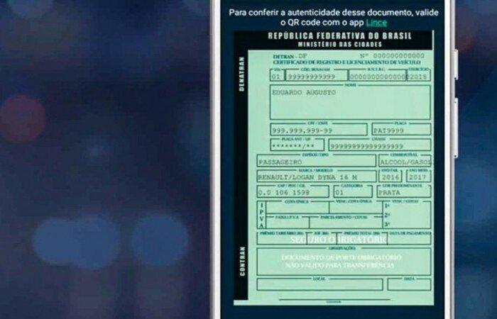 Contran digitaliza os documentos de registro e transferência de veículo