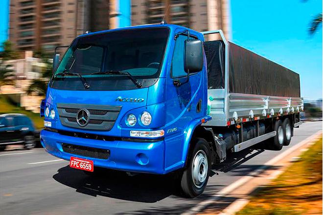 Venda de caminhões cresce 1,13% em janeiro, veja o ranking