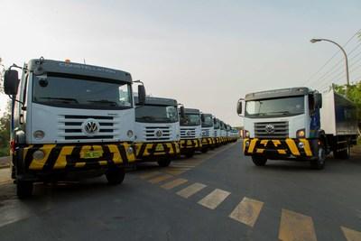 Solví renova frota da limpeza com caminhões Volkswagen no Peru