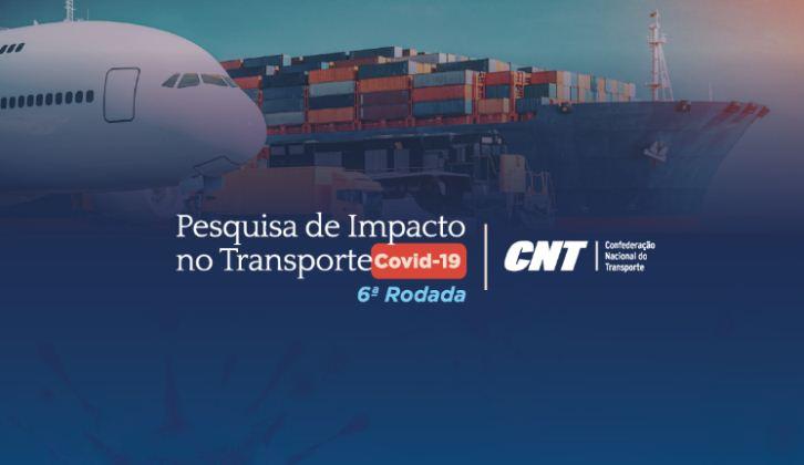 CNT lança nova rodada da Pesquisa de Impacto no Transporte – Covid-19