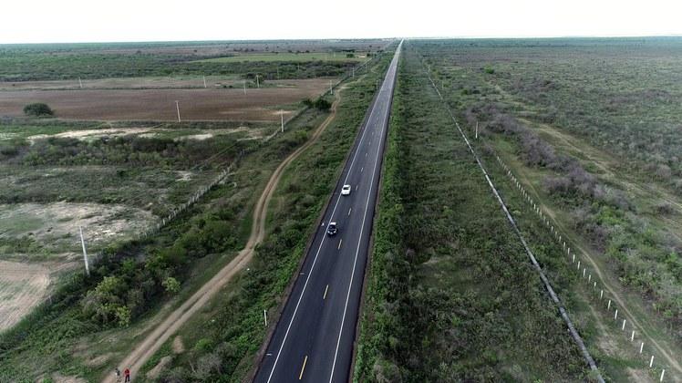 Governo Federal finaliza obra e Rodovia do Sal tem novo trecho restaurado