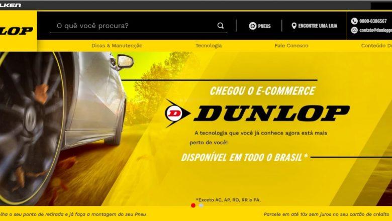 Dunlop lança e-commerce para facilitar dia a dia dos clientes
