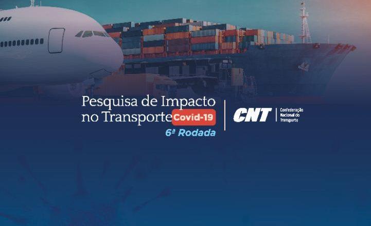 Pandemia provoca prejuízos para o setor de transportes, aponta pesquisa da CNT