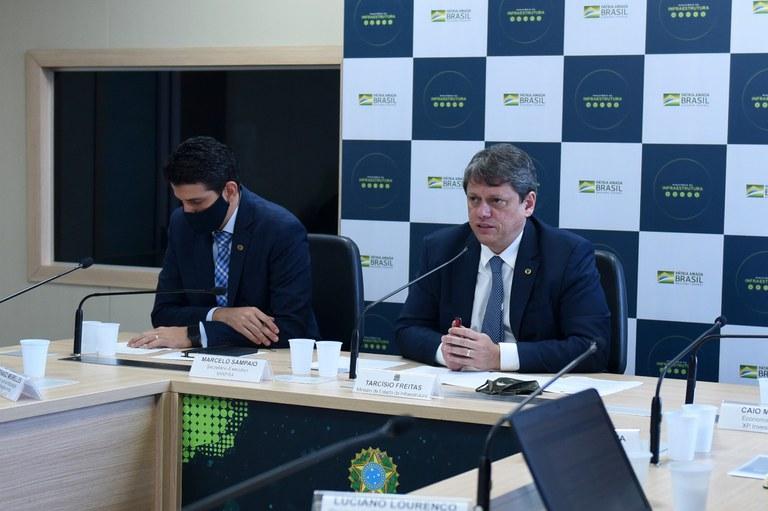MInfra faz reunião inédita com caminhoneiros para discutir visão de mercado e necessidade de reformas