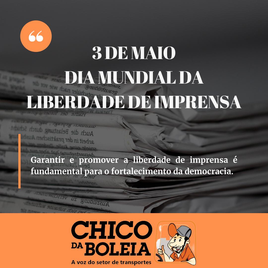 Dia Mundial da Liberdade de Imprensa marca contexto de perseguição e criminalização da imprensa no Brasil