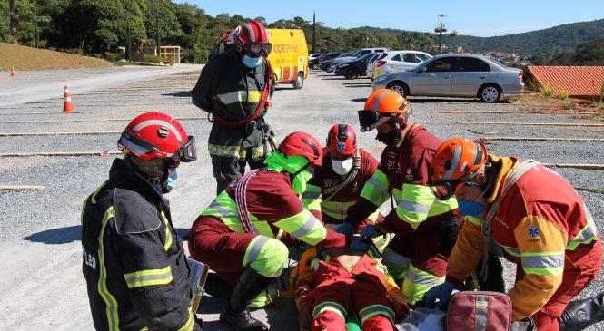 Treinamento intenso aperfeiçoa equipes para resgate nas rodovias