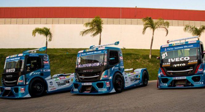 1ª etapa da Copa Truck tem cinco caminhões IVECO na largada