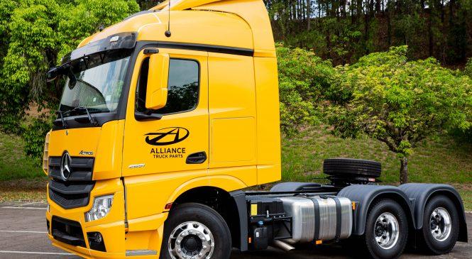 Mercedes-Benz dobra as vendas de peças de reposição da linha Alliance no Brasil