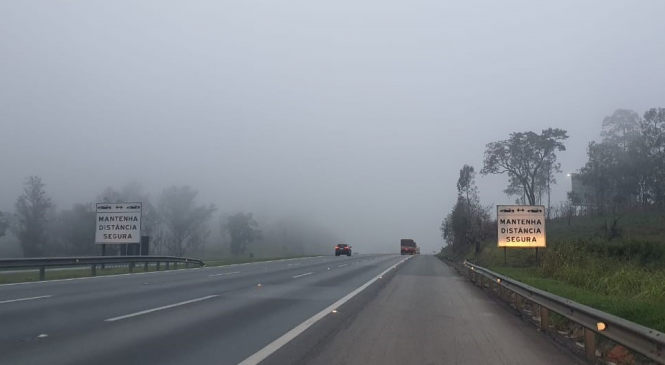 CCR ViaOeste e CCR RodoAnel apontam cuidados com neblina nas rodovias