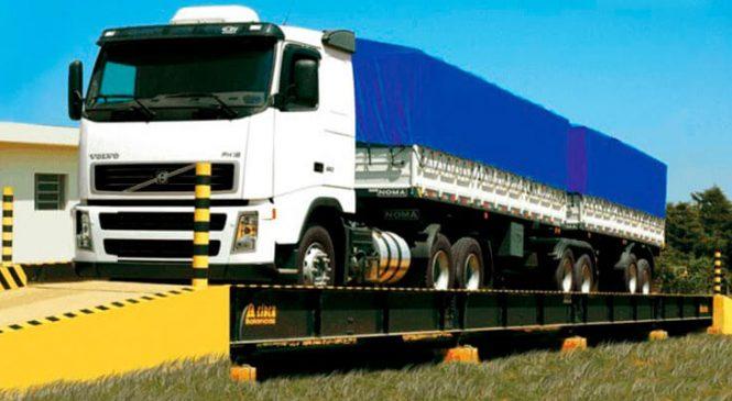 Pesagem por eixo vai permitir políticas públicas mais eficientes no transporte de cargas
