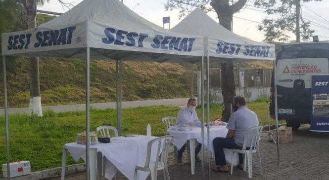 SEST SENAT realizou mais de 60 mil atendimentos nos três primeiros dias da mobilização nacional