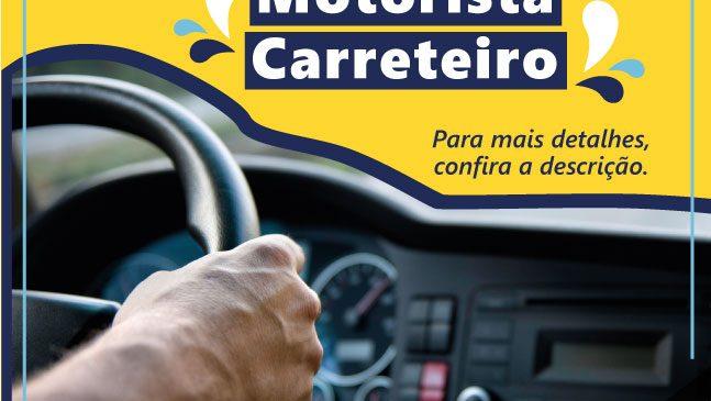 Veloce Logística abre vagas para motorista carreteiro internacional