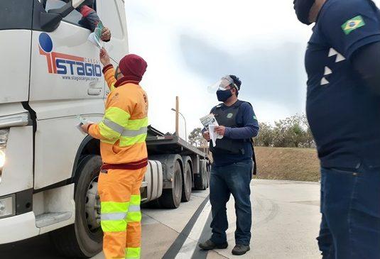 Ação de segurança Acorda Caminhoneiro acontece nesta sexta-feira em Guararema