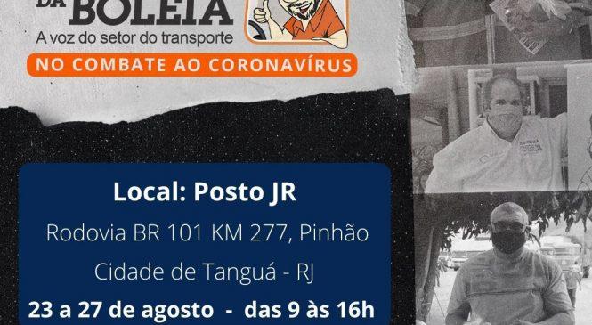 Chico da Boleia realiza nova ação da Rede Solidária no Rio de Janeiro