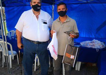 Mais de 500 caminhoneiros (as) são beneficiados com kits em ação no Rio de Janeiro