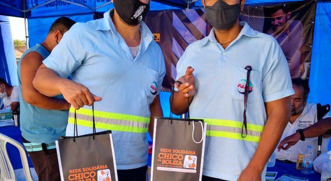 Último dia da campanha Rede Solidária Chico da Boleia no Rio de Janeiro