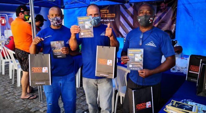 Nova ação da Rede Solidária no Rio de Janeiro é sucesso entre caminhoneiros (as)